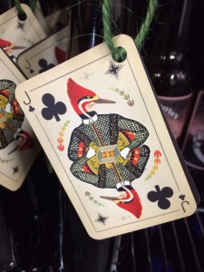 Bottle label for one of their beers, Jack of Clubs.