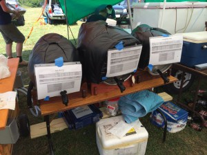 My casks. More information than usual on the cards to satisfy the home brewer crowd's curiosity.