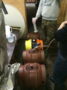 Casking some firkins