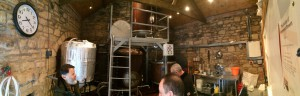 Pano shot of the whole brewery