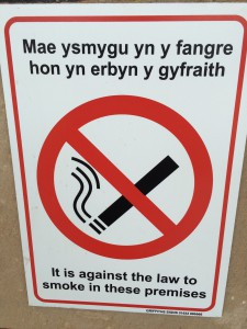Love the Welsh. Don't understand it at all, but love it none the less.