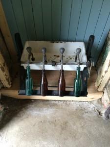 Some old bottling equipment