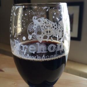 Shanco Dubh on cask. Very nice