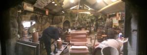 Cooper's workshop (barrel maker)