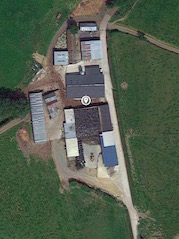 The farm where the Brehon Brewery is located